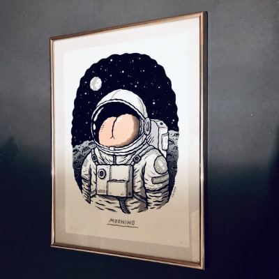 Michael Hacker, Mooning, 2019